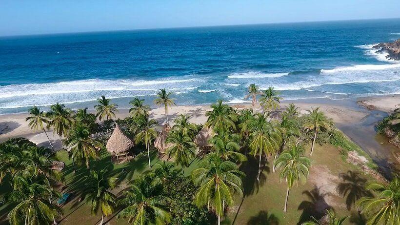 teyumakke en playa brava tayrona
