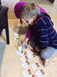 CSA Box Veggie Memory Game