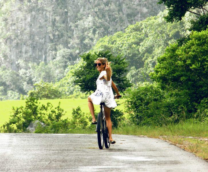 Bicicleteando por Viñales