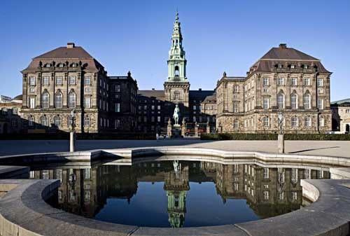 El Palacio Real de Christiansborg : Viaje a Escandinavia
