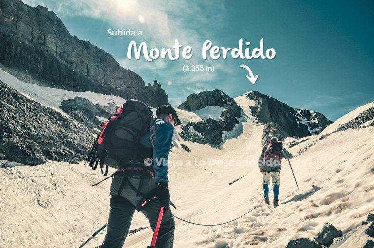 Subida Monte Perdido desde Refugio de Góriz