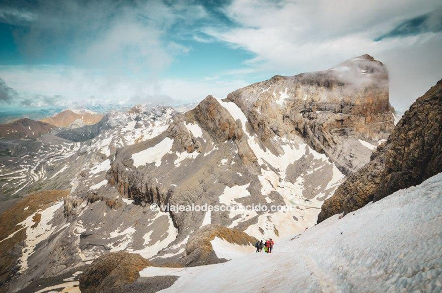 Monte Perdido desde Góriz - Cilindro de Marboré