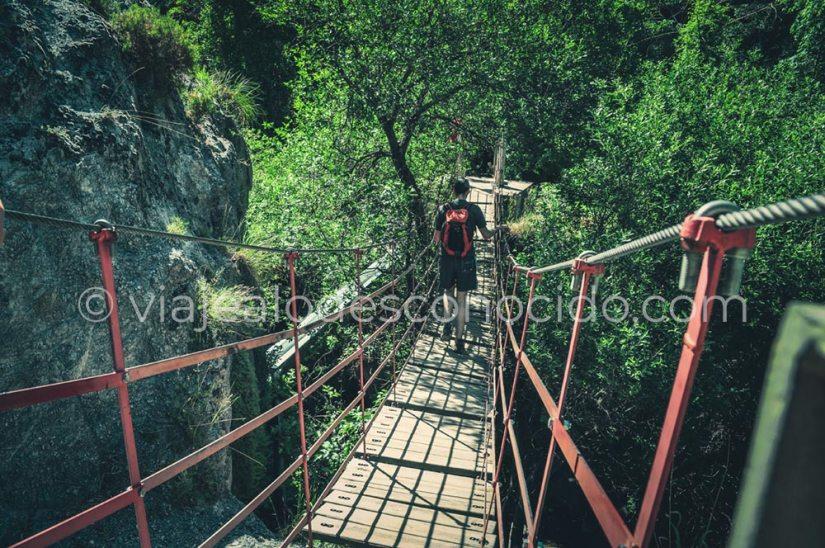 Ruta Cahorros de Monachil, Granada
