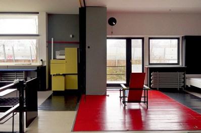 Interior de la casa Rietveld-Schröder