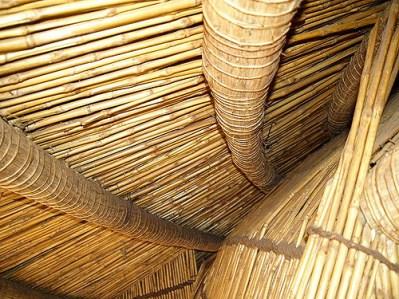 Detalle constructivo de las tumbas de Kasubi