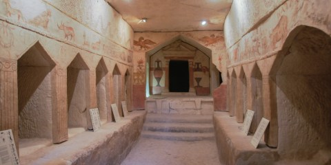 Cuevas de Maresha y Bet-Guvrin