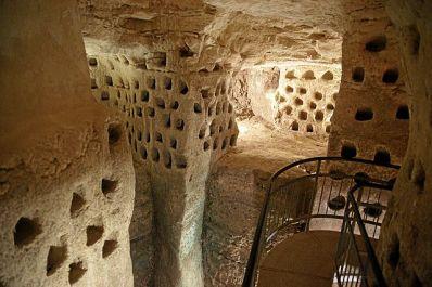 Laberinto de cuevas en Maresha