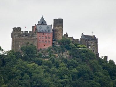 Castillo de Schönburg, en Oberwesel