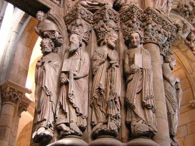 Apóstoles del Pórtico de la Gloria de la Catedral de Santiago