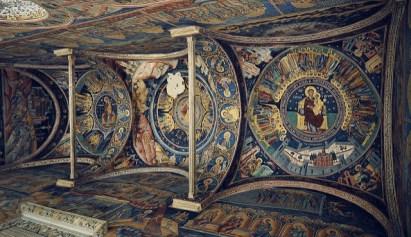Frescos del monasterio de Horezu