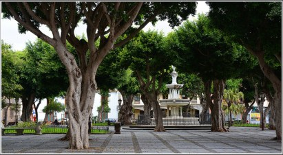 Plaza del Adelantado en San Cristóbal de la Laguna