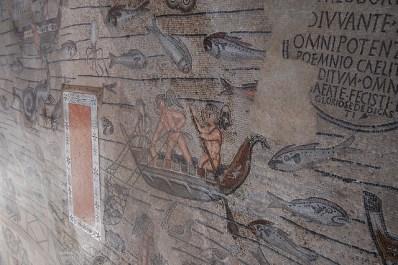 Detalle de los mosaicos de Aquilea