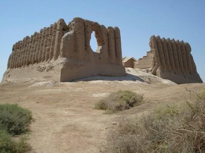 Kushk de Kyz Qala, el mejor conservado de Sultan Kala