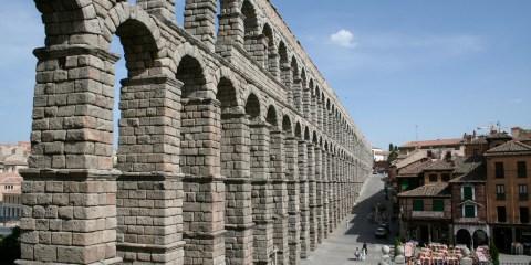Ciudad vieja y acueducto de Segovia