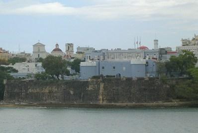 Fortaleza de San Juan desde el mar