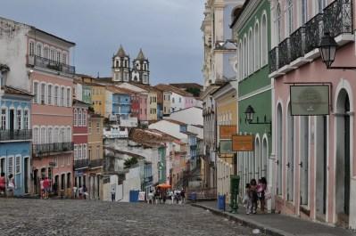 Vista de Bahía desde la plaza de Pelourinho