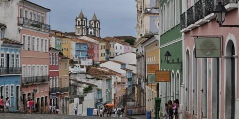 Centro histórico de San Salvador de Bahía