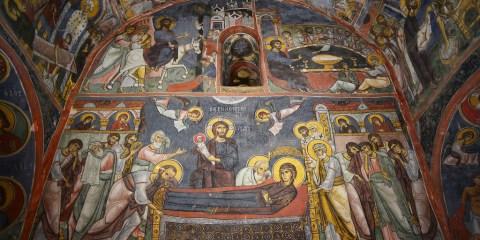 Iglesias pintadas de la región de Troödos