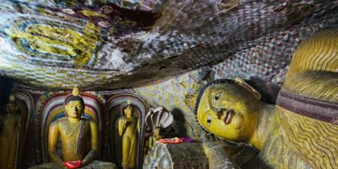 Templo de Oro de Dambulla