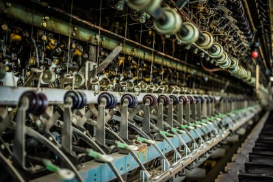 Maquinaria de seda en la fábrica de Tomioka