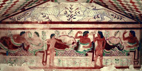 Necrópolis etruscas de Cerveteri y Tarquinia