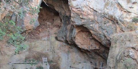 Sitio de evolución humana del Monte Carmelo: cuevas del Nahal Me'arot/Uadi Al Mughara