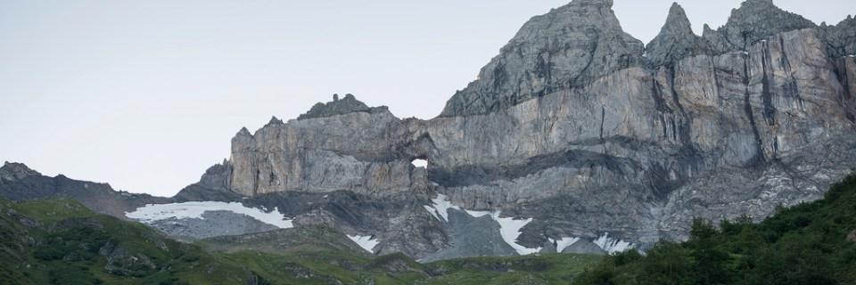Sitio tectónico suizo del Sardona