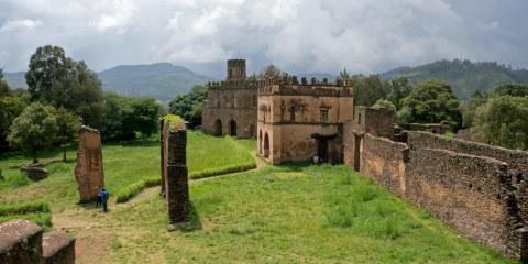 Fasil Ghebi – Región de Gondar