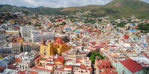 Ciudad histórica de Guanajuato y minas adyacentes