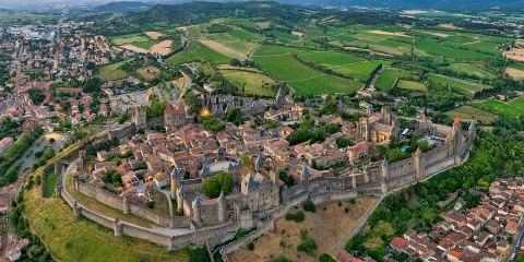 Ciudad fortificada histórica de Carcasona