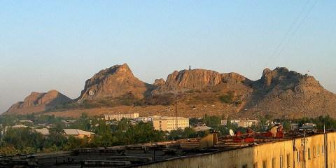 Montaña Sagrada de Sulaimain-Too