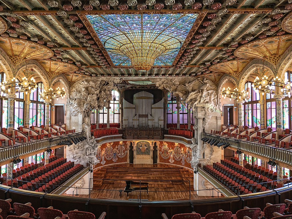 Palau de la Música Catalana y hospital de Sant Pau en Barcelona - Viaje al Patrimonio