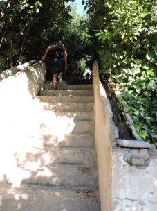 Escaleras de agua