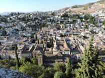 Vista panorámica de La Alahambra