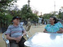 Opi con Ana María (87 años). Otro gran ejemplo de vida