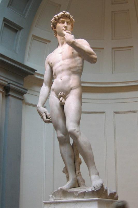 El David, en la Academia