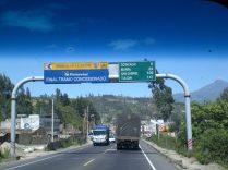 Desde algún camión perdidos en Ecuador