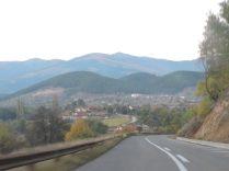 Camino a Kaminitsa: el paisaje de montaña en Macedonia