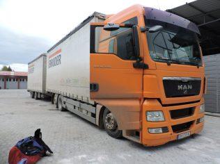 El camion que me condujo a Ohrid