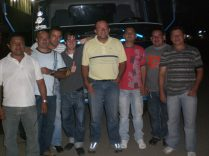 Camioneros en CORABASTOS, Colombia