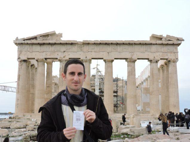 Entrar gratis a la Acropolis