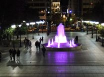 Plaza principal de Atenas
