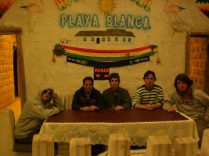 Parecemos grupo terrorista, en Uyuni, Bolivia