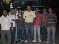 Junto a los camioneros de Corabastos, Bogota, Colombia