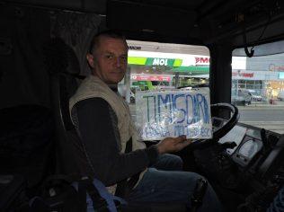 Llegado a Timisoara desde Belgrado