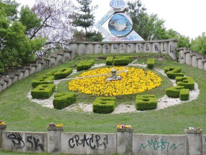 El reloj de flores