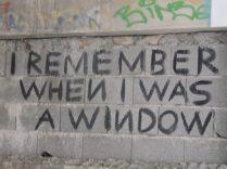 El tiempo de la ventana