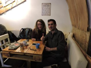 Junto a Ramona en Timisoara