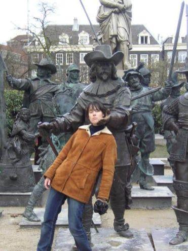 Plaza Rembrandt Ámsterdam Holanda