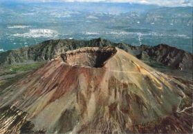 Volcán Vesuvio Italia